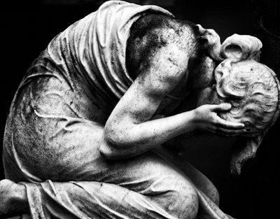 Grief statue